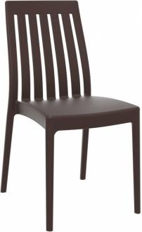 Plastikowe krzesło bez podłokietników Soho