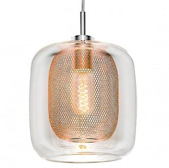 Pojedyncza lampa wisząca w stylu industrialnym Donato