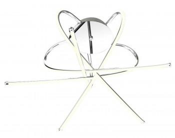 Designerski plafon sufitowy z kryształem Carrello 5 Led