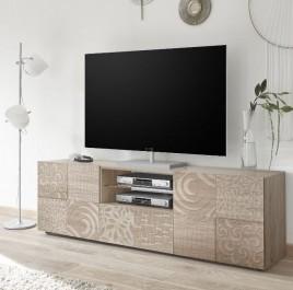Szafka pod telewizor Vero 2+1 dąb sonoma