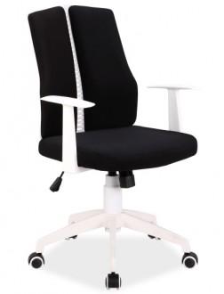 Nowoczesne krzesło obrotowe z niskim oparciem Q-226