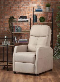 Rozkładany fotel wypoczynkowy do salonu Felipe