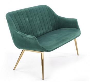 Sofa tapicerowana tkaniną aksamitną Elegance 2 XL