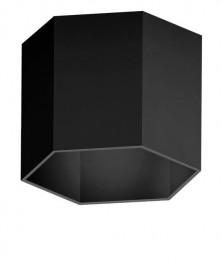Designerski kinkiet ścienny Polygon WL z aluminium
