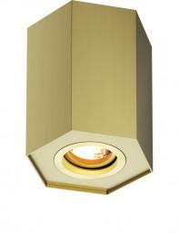 Designerska lampa przysufitowa spot Polygon CL R 20077