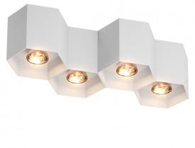 Designerska lampa przysufitowa spot Polygon CL 4 20037