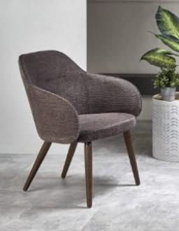 Tapicerowany fotel z podłokietnikami Verano