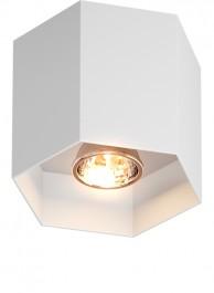 Metalowa lampa przysufitowa spot Polygon CL 1 20035