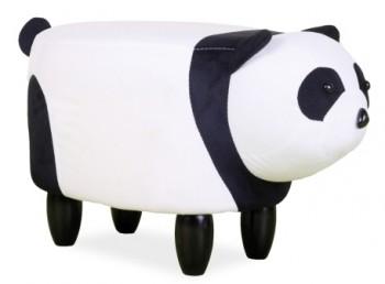 Pufa dziecięca w kształcie misia Panda Paulinka