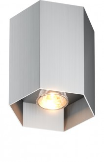 Designerska lampa przysufitowa spot Polygon CL 1 20067