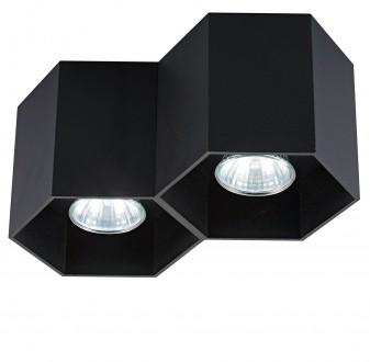 Designerska lampa przysufitowa spot Polygon CL 2 20036