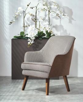 Wygodny fotel z poduszką na siedzisku Telaviv
