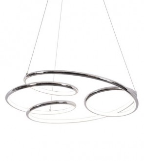 Chromowana lampa wisząca z oświetleniem Led Peria 1A