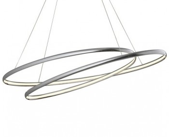 Chromowana lampa wisząca z oświetleniem Led Peria 54A