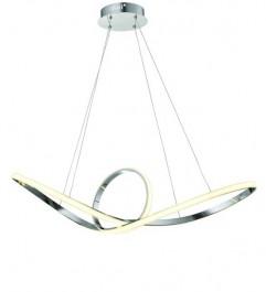 Ledowa lampa wisząca z metalu Dario