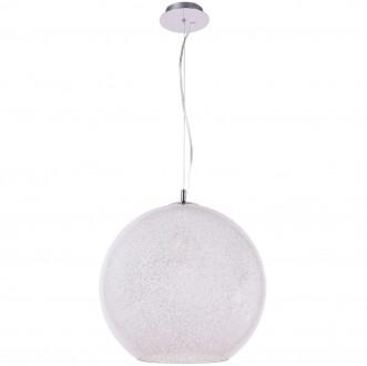 Szklana lampa wisząca z okrągłym kloszem Bero 40