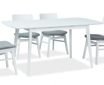 Biały stół jadalniany z funkcją rozkładania Combo II
