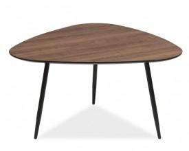 Stolik kawowy na metalowych nogach Envo C w stylu loft