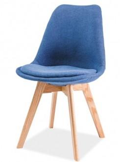 Tapicerowane krzesło z poduszką na bukowych nogach Dior