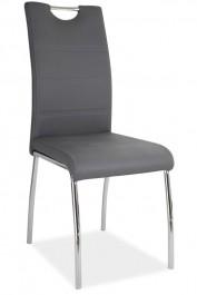 Nowoczesne krzesło na czterech nogach z uchwytem H822