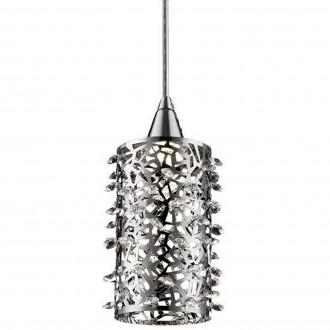 Pojedyncza lampa wisząca z ażurowym kloszem Gianna LED