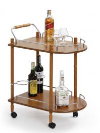 Stolik barowy z półką na kółkach BAR4