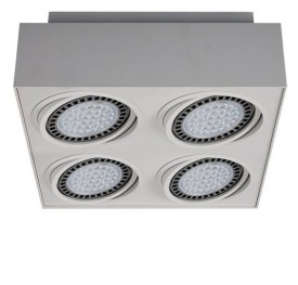 Metalowa lampa przysufitowa spot Boxy CL 4