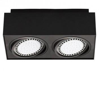 Metalowa lampa przysufitowa spot Boxy CL 2