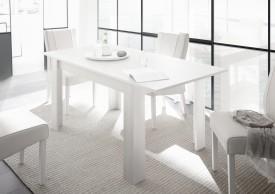 Rozkładany stół Tuscany biały mat