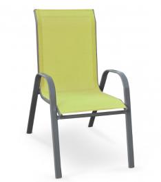 Krzesło ogrodowe z siatki Mosler