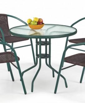 Okrągły stół do ogrodu Grand 80
