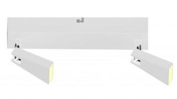Lampa przysufitowa spot z oświetleniem Led Spazio 2