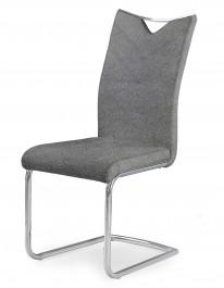 Tapicerowane krzesło na płozach z uchwytem K352