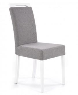Krzesło z miękkim siedziskiem Clarion biały