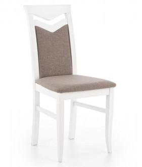 Drewniane krzesło Citrone biały