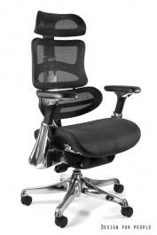 Regulowany fotel biurowy z siatki Ergothrone