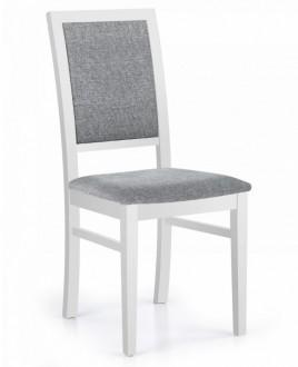 Klasyczne krzesło drewniane Sylwek 1 biały