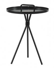 Metalowy stolik pomocniczy z rączką Amigo