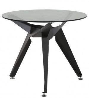 Designerski stolik ze szklanym blatem Crab