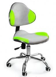 Dwukolorowe krzesło dziecięce z tkaniny membranowej Tommy