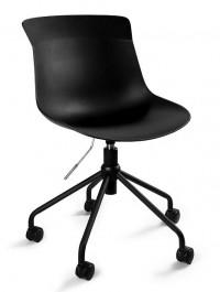 Obrotowe krzesło biurowe z tworzywa Easy