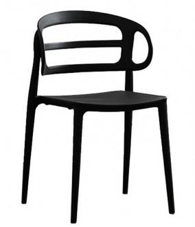Krzesło z tworzywa bez podłokietników Marcus