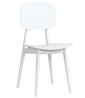 Krzesło kawiarniane z owalnym oparciem Andy