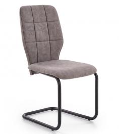 Krzesło z ekoskóry na płozach K339