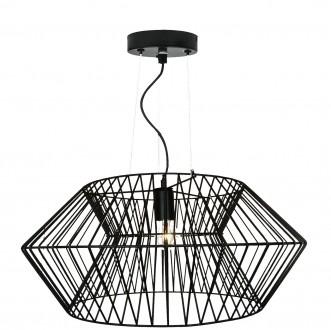 Metalowa lampa wisząca z drucianym kloszem Verto D57