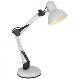 Regulowana lampa biurkowa z metalu Garita