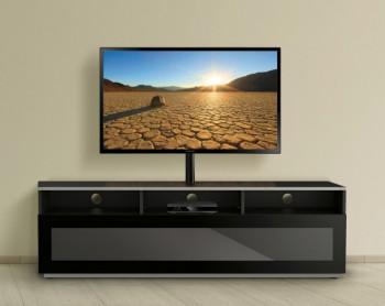 Szafka RTV ze szklanym frontem MyTV Stand 16040H