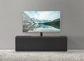 Szafka RTV z frontem z tkaniny akustycznej MyTV Stand 16040F