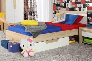 Łóżko młodzieżowe 091 Lace z wkładem