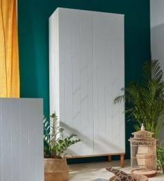 Dziecięca szafa 2-drzwiowa z szufladą wewnętrzną Toteme